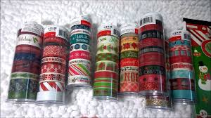 michaels christmas washi tape i wasn u0027t expecting to find so much