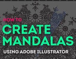 tutorial illustrator italiano tutorial how to create mandalas on adobe illustrator on behance