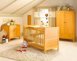 Cream Nursery Curtains by Interior Cream Porcelain Floor Mixed With Amber Wooden Bedding