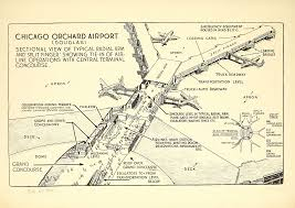 Chicago Ord Map by The Fascinating History Chicago U0027s O U0027hare International Airport