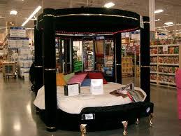 Black Canopy Bed Luxury Design Modern 4 Post Black Velvet Canopy Bed