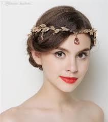 wedding headband wholesale gold wedding headband chain hair jewelry tiara