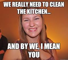 Cleaning Meme - kitchen cleaning meme coryc me