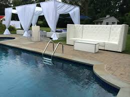 party rentals nyc pool party service event rental serving nyc island