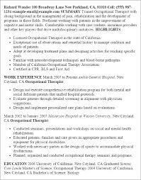phlebotomy resume example certified occupational therapy assistant cover letter