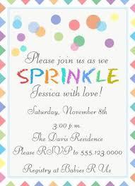 baby sprinkle ideas baby sprinkle invites mes specialist