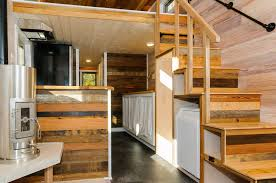 wood interior homes tiny house town the mh by wishbone tiny homes