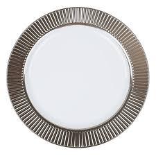 celebration white silver plastic dinner plates smarty had
