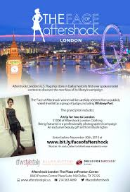 Flag Store Dallas Are You The Face Of Aftershock London Enter Now Dfw Style Daily