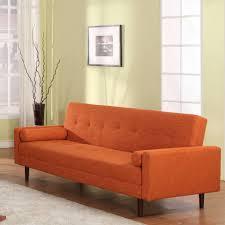 15 best collection of orange modern sofas