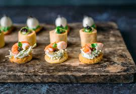 image result for canape finger food pass around pinterest