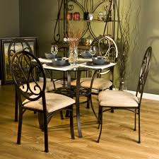dining room table with swivel chairs decorate top kitchen dinette sets loccie better homes gardens ideas