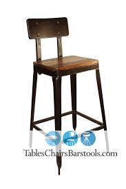 cafe bar stools simon steel cafe bar stool with antique rust finish bar rustic metal