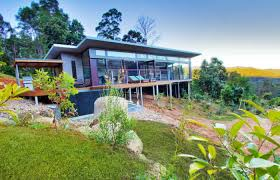 sloping block design 4 bedroom family home in wollongbar