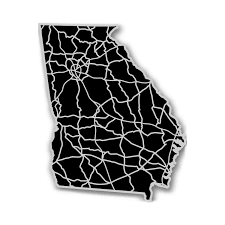 Georgia State Map Georgia Acrylic Cutout State Map Modern Crowd Touch Of Modern