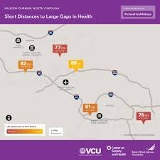 Zip Code Map Az by Maps Show Life Expectancy Varies Between Nearby Nc Zip Codes Wunc