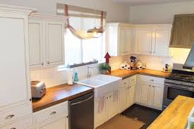 white cabinets with butcher block countertops white cabinets butcher block countertops home flooring small bathroom