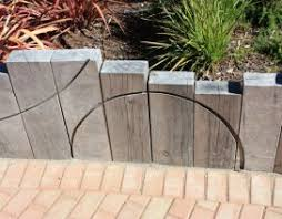 retaining walls with railway sleepers landscaping retaining