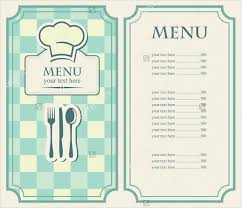 simple menu template free 35 cafe menu templates free sle exle format