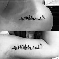 90 building tattoos for men architecture ink design ideas