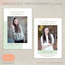 senior graduation announcement templates best 20 graduation announcement template ideas on