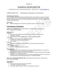 assistant manager resume assistant manager resume format the most brilliant bank objective