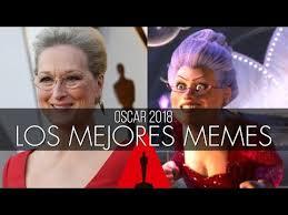 Memes De Los Oscars - los mejores memes de los premios oscar 2018