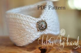 crochet headband instant tunisian crochet headband pattern baby