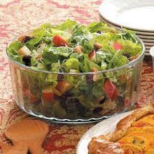 autumn tossed salad recipe taste of home