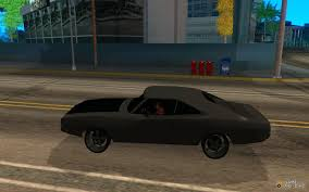 dodge charger from fast 5 1970 dodge charger fast five for gta san andreas