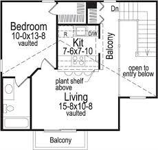 Live In Garage Plans by Small House Plans House Plan 138 1058 1 Bedrm 654 Sq Ft Home