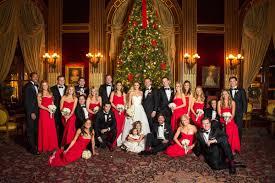 Christmas Wedding Decor - festive décor for weddings with a holiday or christmas theme red