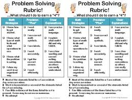 5th grade math problem solving problem solving rubric standards for mathematical practice