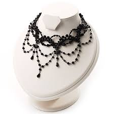 multi layered black necklace images Multi layer jpg