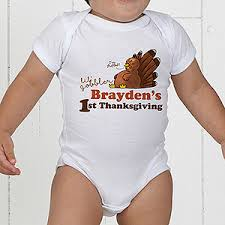 personalized baby s thanksgiving clothing