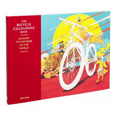the bicycle coloring book journey to the edge of the world