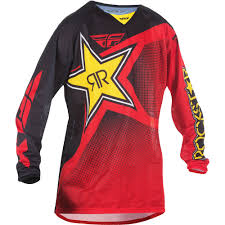 motocross gear perth fly racing 2017 kinetic rockstar black red jersey perth western
