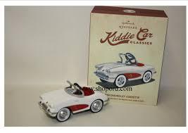 hallmark 2015 kiddie car classics chevrolet 1958 corvette ornament