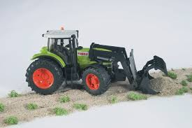 bruder farm toys bruder 03011 claas atles 936 rz tractor with frontloader amazon