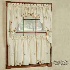 custom made kitchen curtains decoration curtain tiers and valances window treatments