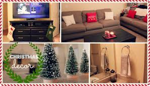 Decorate My Apartment by Decorating My Apartment For Christmas Youtube