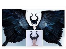 Latex Halloween Costume Maleficent Latex Horns Halloween Christmas Festival Cross