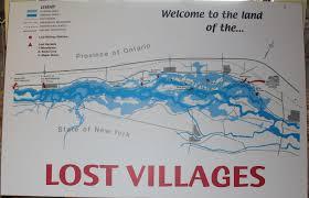 St Lawrence River Map Lost Villages Museum Archives Celtic Connexions