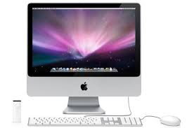 apple ordinateur bureau imac apple imac24 2 8 ghz mb325f a mb325fa darty
