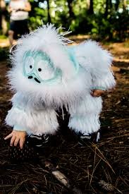 abominable snowman costume made my kid a bumble suit album on imgur