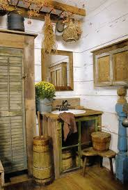 Primitive Decorating Ideas For Kitchen by 260 Best Primitive Colonial Bathrooms Images On Pinterest