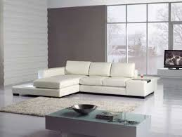 Sofa Sofa Newport Modern Newport Compact White Leather L Shape Corner Sofa