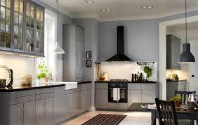 küche landhausstil ikea ikea küchensystem metod mit bodbyn front in grau bodbyn