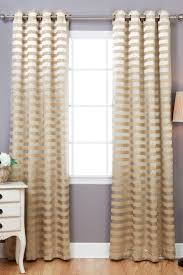 Blackout Window Curtains Best Home Fashion Inc Satin Stripe Grommet Blackout Window
