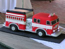 firetruck cakes truck cake 5 i used an edible silver airbrush color s flickr